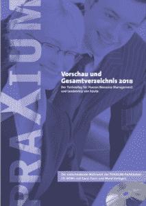 PRAXIUM Verlagsverzeichnis 2018