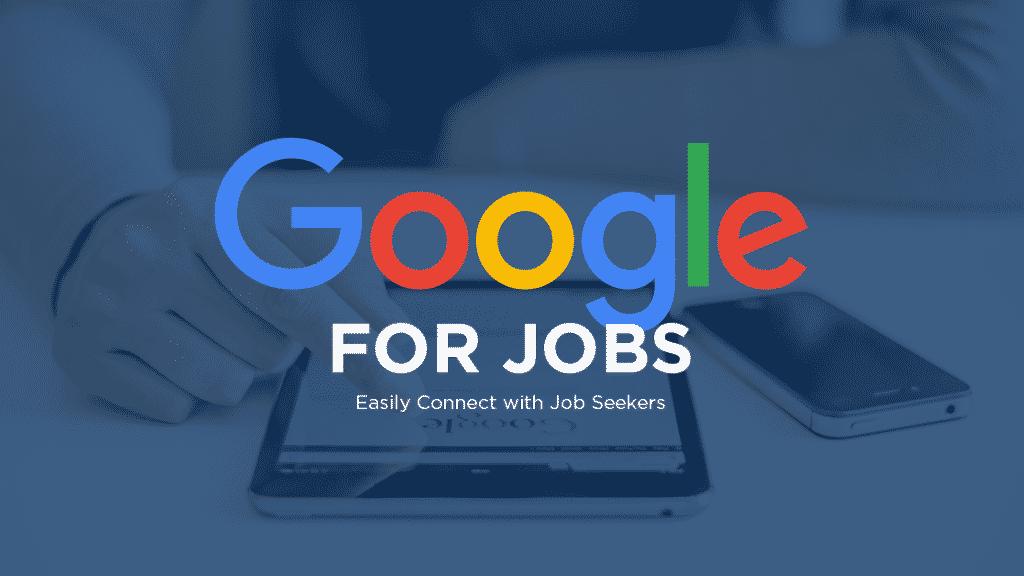 google for jobs banner
