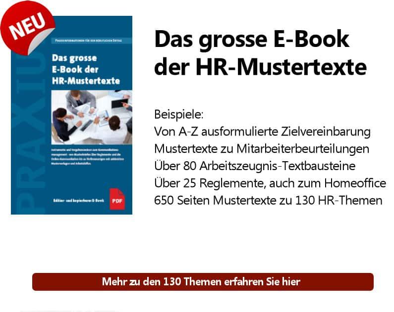 CTA Das grosse eBook zu Musterexten 1