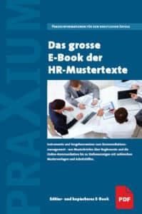 Das grosse E-Book der HR-Mustertexte