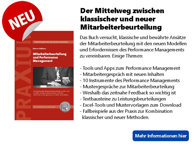 Performance Management und Mitarbeiterbeurteilung