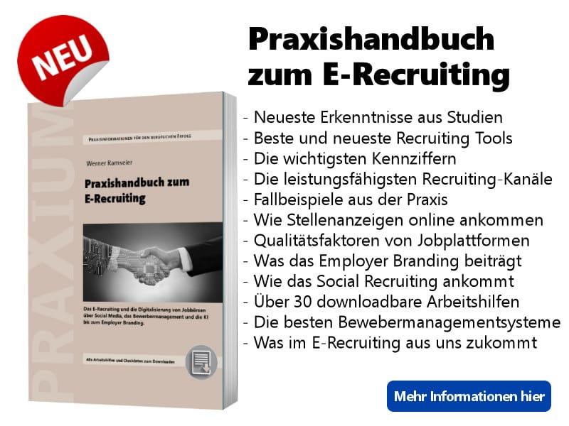 Praxishandbuch zum E Recruiting